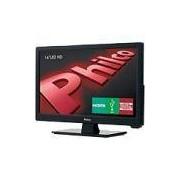 TV LED 16 Philco PH16D10D HD com Conversor Digital 1 HDMI 1 USB Sleep timer e Closed Caption