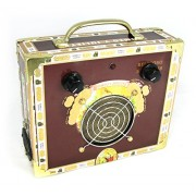 Cigar Box Guitar Amplifier-Romeo and Julietta