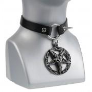 collana girocollo collana Baphomet - LSF9 02