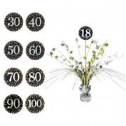 Liragram Centro de mesa decorativo de Burbujas Champagne - Número 18