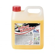 Solutie de curatat auto cu ceara (sampon) ProX Brilliant Wash&Wax 2L, utilizare manuala