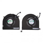 1 Pair iPartsBuy for Macbook Pro 17 inch A1297 (2009 - 2011) Cooling Fans (Left + Right)