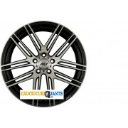 Janta Aliaj AEZ CLIFF DARK Black Polished Front 7x17 5x108 ET48