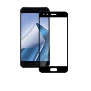 Folie protectie sticla securizata full size Asus Zenfone 4 ZE554KL, negru
