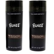 Hårfiber.nu 2x Bunee Large - Valfri Färg - 27,5g - Medium Brown