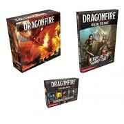 Dragonfire D & D Deckbuilding Game Bundle: Dragonfire D & D Base Set, Character Pack: Heroes of the Sword Coast, and Treasure Hoard: Wondrous Treasures