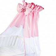 Baldachin universal pentru patut - roz