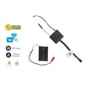 Miniatúrna spy WiFi Full HD kamera 90° uhol a detekciou pohybu
