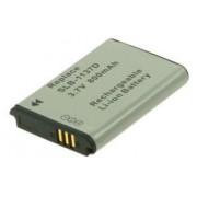 2-Power DBI9918A Ioni di Litio 800mAh 3.7V batteria ricaricabile