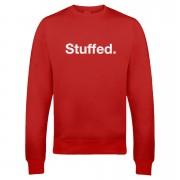 Stuffed Christmas Sweatshirt - Red - S - Red