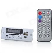 """1.0 """"MP3 Modulo reproductor c/ FM / USB / Mini ranura USB / SD - plata (5V)"""