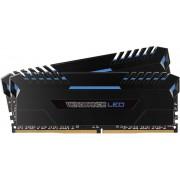 Memorii Corsair Vengeance LED Blue DDR4, 2x8GB, 3000MHz, CL 15