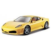 Bburago - 1/24 Ferrari Race & Play F430 (Yellow)