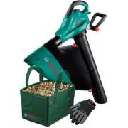 Bosch ALS 25 Bladblazer - 2500 Watt - Met 45 liter opvangzak, verzamelbak en tuinhandschoenen