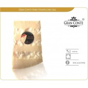 Cuña de queso Italiano Gran Conte Nero 1 kg. 30 meses de curación
