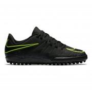 Zapatos Fútbol Niños Nike Jr Hypervenom Phelon II TF-Negro