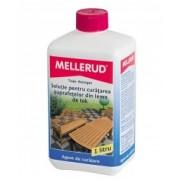 Soluţie pentru curăţarea suprafeţelor din lemn de tek