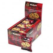 Shortbread Cookies, Chocolate Chip, 2 Cookies/pack, 24 Packs/box