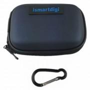 Ismartdigi CC-2 EVA Bolsa de la camara para Mini DV Sony Canon Nikon - Azul