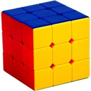 Toy Vala Stickerless Cube Magic Cube Speed Cube (3# Multicolor)