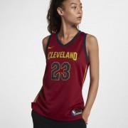 LeBron James Icon Edition Swingman Jersey (Cleveland Cavaliers) Nike NBA Connected Trikot für Damen - Rot