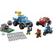 Lego Klocki konstrukcyjne LEGO City - Pościg górską drogą 60172