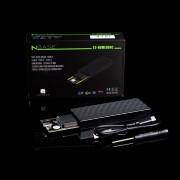 nBase ES-NVME80HC M.2 NVMe USB3.1gen2 mobil rack Black