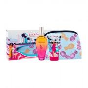 ESCADA Miami Blossom confezione regalo eau de toilette 100 ml + lozione corpo 150 ml + trousse Donna