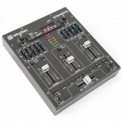 Skytec STM-2270 4-Kanal-Mixer Bluetooth USB SD MP3 FX
