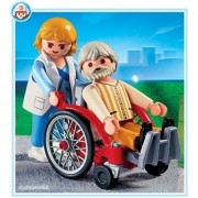 Playmobil Wheelchair with Patient