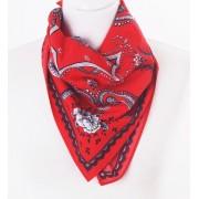 Rode bandana / boerenzakdoek met Hollands printje