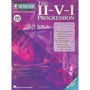 The II-V-I Progression: Jazz Play-Along Lesson Lab (Volume 177) Book with Online Audio, Paperback
