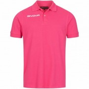 Givova Summer Heren Poloshirt MA005-0006 - roze - Size: Medium