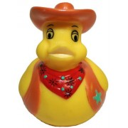 Rubber Ducks Family Cowboy Rubber Duck, Waddlers Brand Bathtub Toy Rubber Ducks That Float Upright, Health & Personal Care & Party Supplies Rubber Duck Gift, All Depts. Western Themed Cowboy Dressed Unique Gift