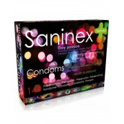 Saninex condoms gay passion punteados 144 uds