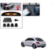 Auto Addict Car Black Reverse Parking Sensor With LED Display For Volkswagen Beetle