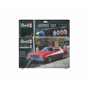 Revell Model Set '76 Ford Torino autó makett 67038