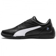 Puma Men's Black BMW MMS Kart Cat III Sneakers