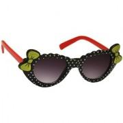 Redex Black Color Stylish Cat-Eye kids Sunglasses