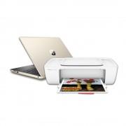 "HP Laptop HP 15-db0074lm AMD A9 RAM 4GB DD 1TB W10 15"" mas Impresora 1115"