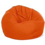 Ink Craft orange Hi-Back Gamer Bean Bag Chair Cover Only - XXL