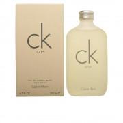 CK ONE apă de toaletă cu vaporizator 200 ml