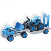 Детски камион с полуремарке и гумени колела 10171 MOCHTOYS, 5907442101713