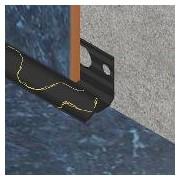 ETI090 - Bagheta Genesis colt interior 9mm din PVC