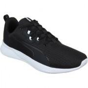 Puma Men'S Tishatsu Runner Puma Black-Puma White Black Sports Shoe