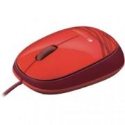 Мишка Logitech M105, оптична (1000 dpi), червена, USB
