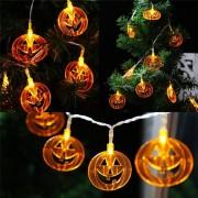 EH Cadena De Lámpara De Calabaza De Halloween