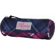 Etui Replay Checks blue-pink check 8x23x8 cm