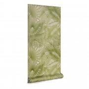 Kave Home Papel pintado Tropic verde 10 x 0,53 m
