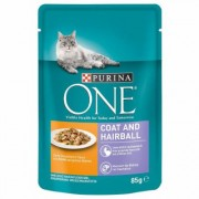 12x85g Coat & Hairball con Pollo e Fagiolini Purina ONE